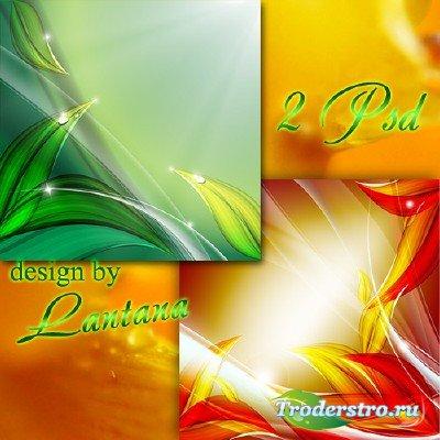PSD исходники - В сентябрь август переходит плавно, смещая  в осень лета ве ...