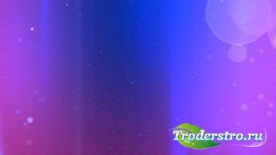 футаж В фиолетовых тонах MOV