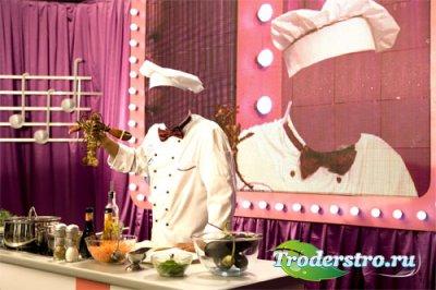 Мужской шаблон - Приготовление больших омаров на передаче