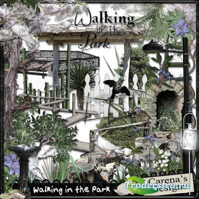 Скрап-комплект - Прогулка в парке