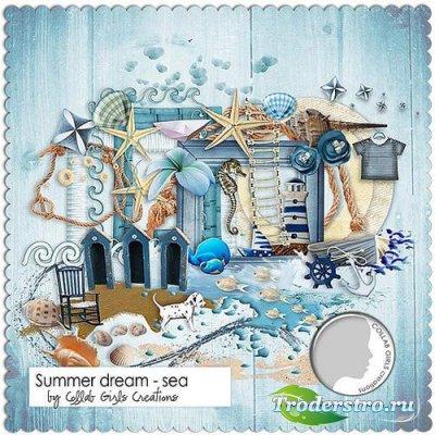 Морской скрап-комплект - Морские летние грёзы