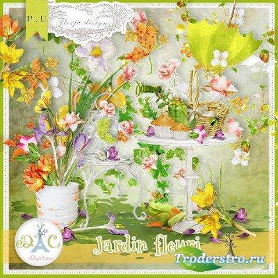 Цифровой скрап-набор - Цветущий сад