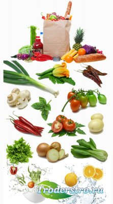 Овощи и фрукты 9шт jpeg