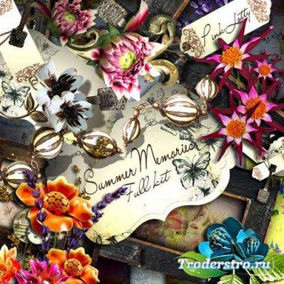Цветочные скрап-комплект - Летние воспоминания