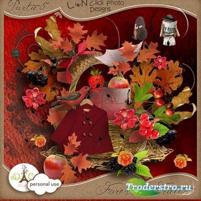Осенний скрап-комплект - Лесные ягоды часть 5