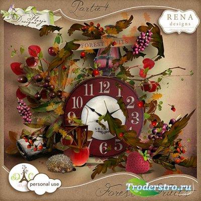 Осенний скрап-комплект - Лесные ягоды часть 4