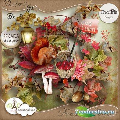 Осенний скрап-комплект - Лесные ягоды часть 2