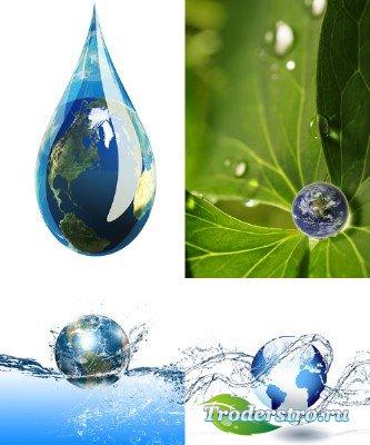 Водный мир (набор фонов)