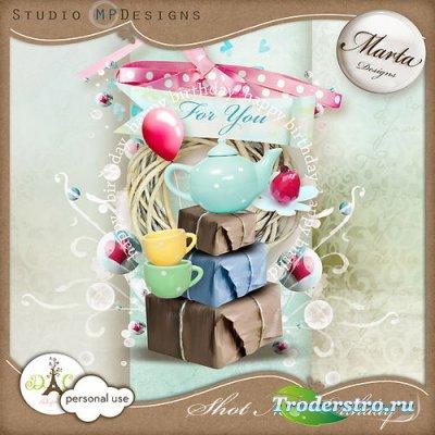 Праздничный скрап-комплект - Очередной день рождения