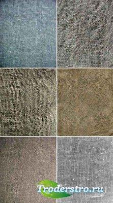 Коллекция холщовых текстур