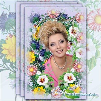 Цветочная рамка для фотографий – Аромат цветов