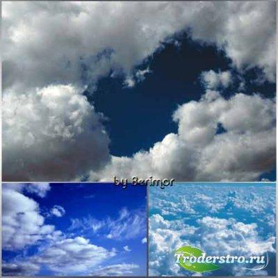 Разные облака в  необыкновенном небе