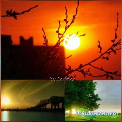 Дивные рассветы и таинственные закаты