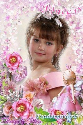 Детская рамка для фото - Маленькая принцесса