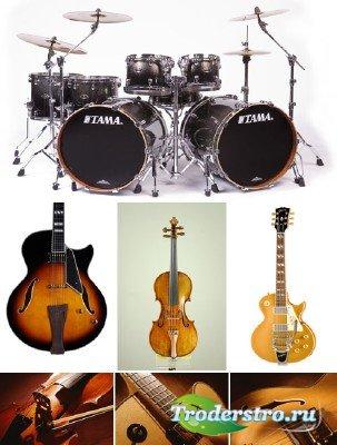 Струнные и ударные музыкальные инструменты