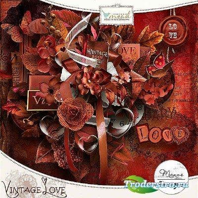 Скрап-комплект - Винтажная любовь
