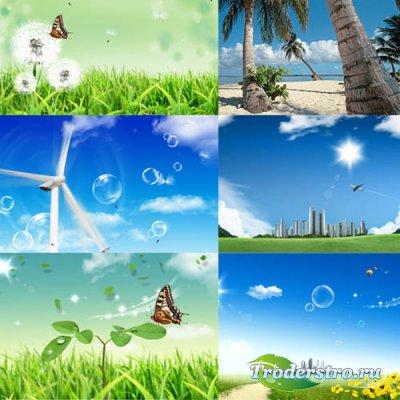 Фоны для фото - Солнечное лето