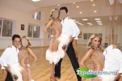 Шаблон для мужчин - Танцоры