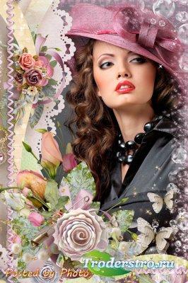 Романтическая рамка - Любовь живёт в сердце