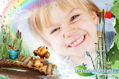 Детская рамка для фото - Твое веселое детство