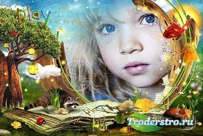 Детская рамочка для фотографий - Время играть