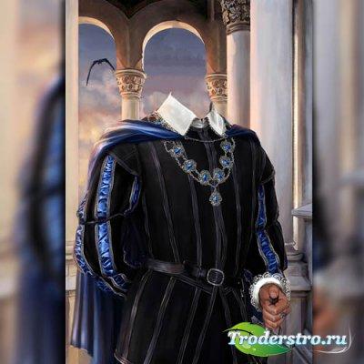 Шаблон для фотошопа - Одежда герцога