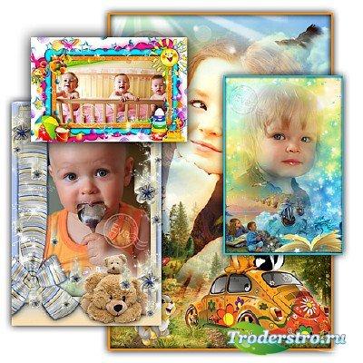 Сборник детских фоторамок - Мои любимые сказки