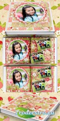 Фотокнига для девочек - маленькая история