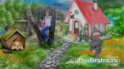 Детский проект для ProShow Producer - Дождик