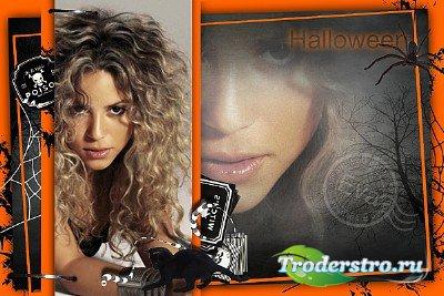 Рамочка для фотошоп - Привет, Хэллоуин