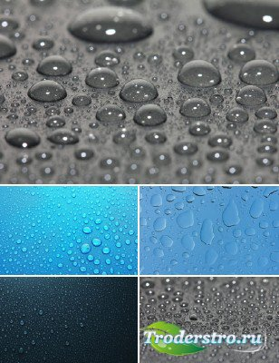 Капли воды на стеклах