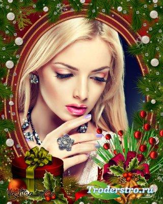 Новогодняя рамка - В ожидании новогоднего чуда