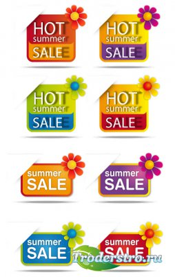 Banners & BG sale clipart vector