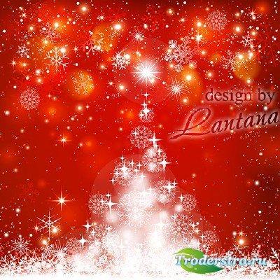 Psd исходник - Новый год к нам мчится 16