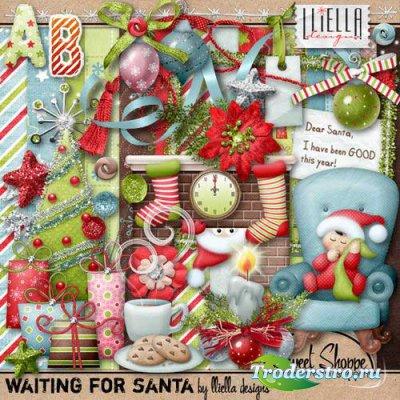 Новогодний скрап-комплект - В ожидании Санты