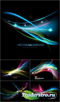 Космический абстрактный фон плецеск (Вектор) Space background pletsesk (Vec ...