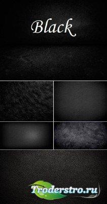 Черные текстуры различных типов