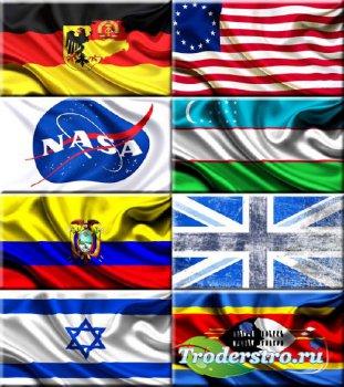 Обои для рабочего стола - Флаги разных стран #15