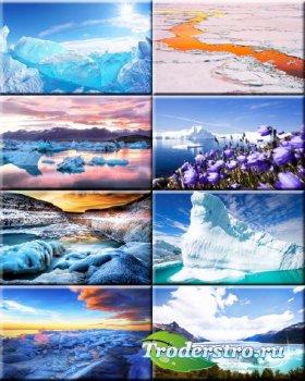 Подборка обоев - Ледяные Айсберги #123