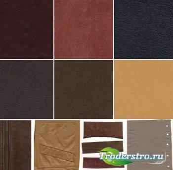 Большая коллекция кожаных текстур