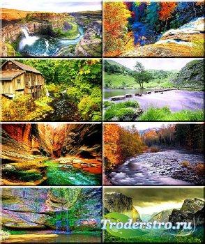 Обои на рабочий стол - Красота рек и водопадов #131