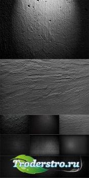 Сборник темных текстур - растровый клипарт