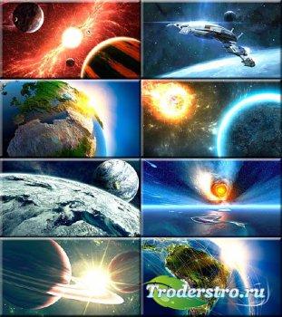 Сборник обоев - Далекие галактики и миры #194