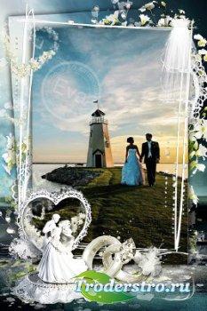 Рамочка для фотографий - Наше свадебное фото
