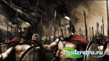 Шаблон для фотомонтажа - Бесстрашный воин Спарты