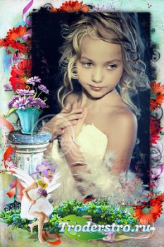 Детская рамка для фотографий - Маленькая лесная фея