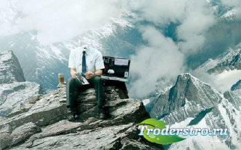 Шаблон для мужчин - Работа в горах