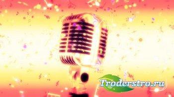 Футаж - Волшебный микрофон