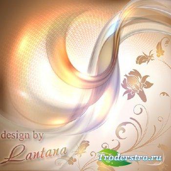 PSD исходник - В волнах фантазий