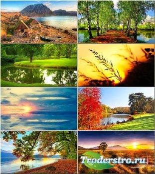 Красочные обои - Природа дивной красоты #72